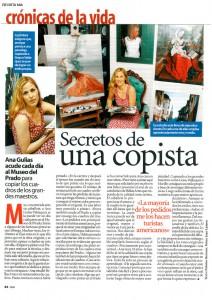 Ana Gulias en Revista Mia