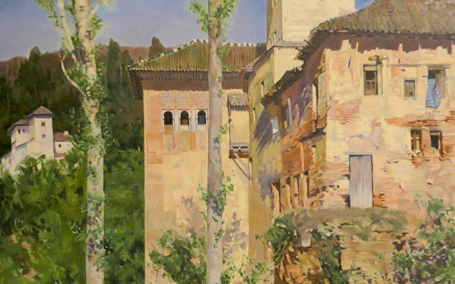 La Torre de las Damas in the Alhambra Granada