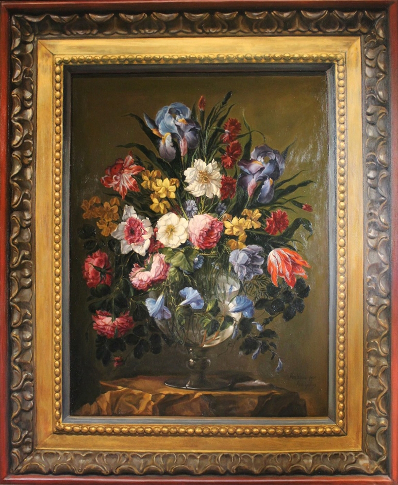 Copa de flores de Arellano