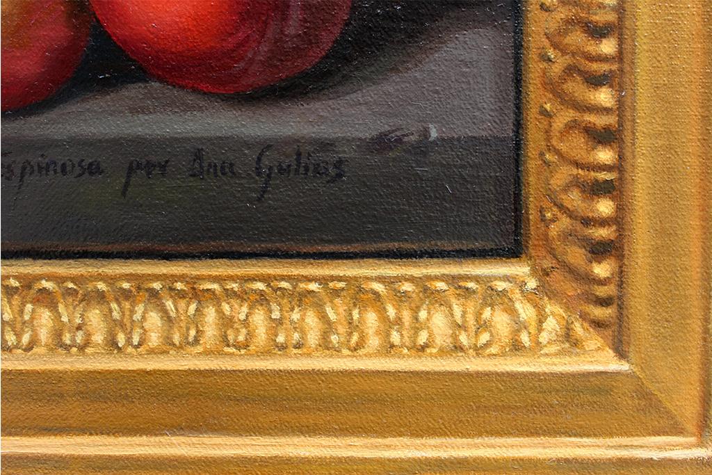 Manzanas, higos y ciruelas de Juan de Espinosa