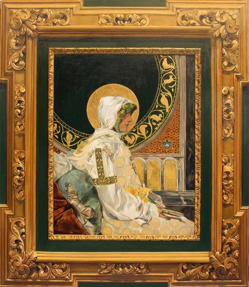 Santa orando de Sorolla