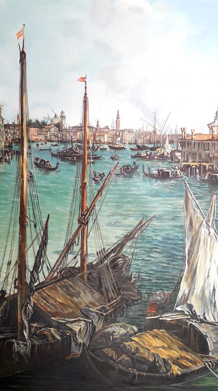 Gran Canal desde San Vio, Venecia